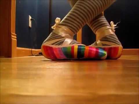 Ballet shoes ASMR