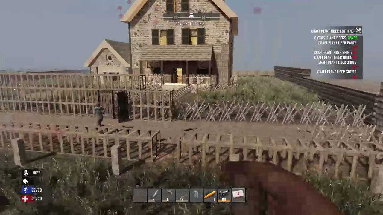 Carbonfox28 39 s live ps4 7 days to die game play youtube for Cocinar en 7 days to die ps4