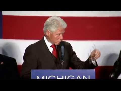 Bill Clinton: Michigan will do better with Dems