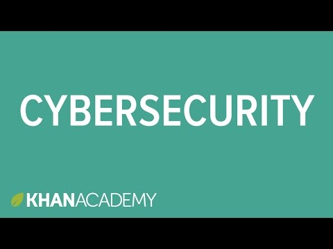 Cybersecurity And Crime | Internet 101 | Computer Science | Khan Academy