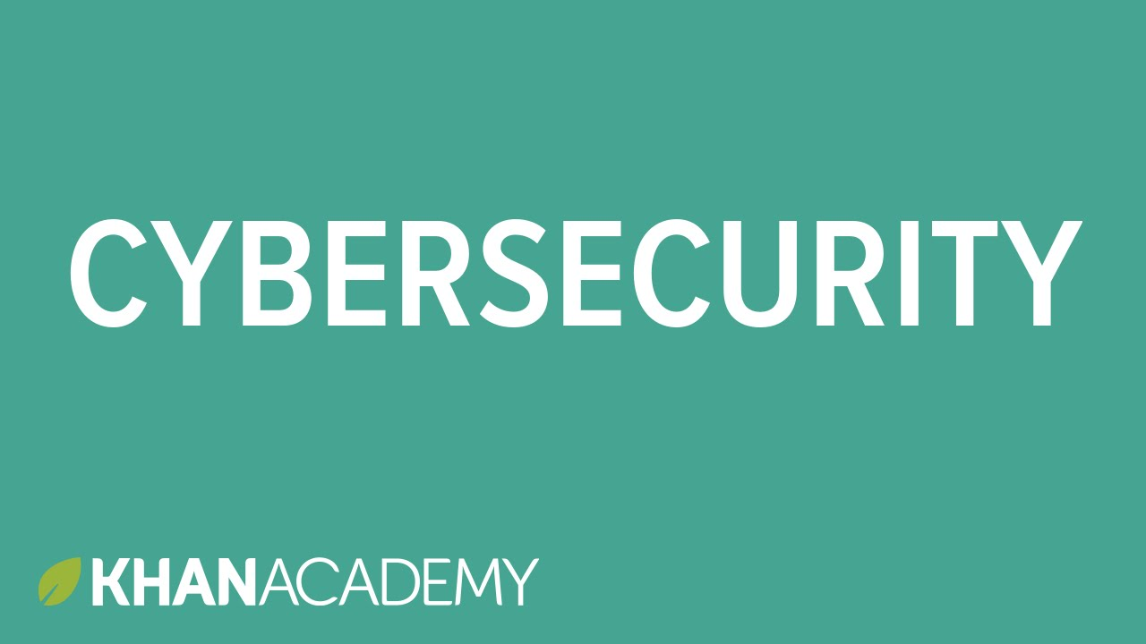 Cybersecurity and crime (video) | Khan Academy