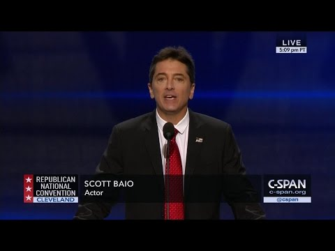 Scott Baio FULL REMARKS at GOP Convention CSPAN
