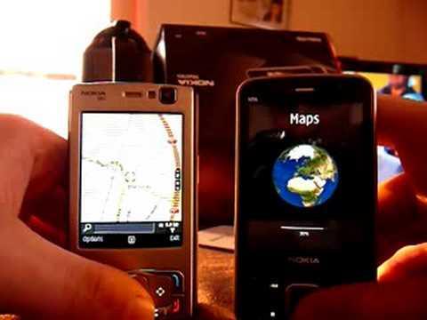 Nokia N95 vs N96