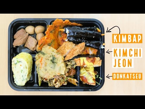 Korean Lunch Box at Tongin Market