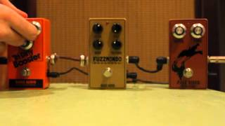 BASIC AUDIO Tourbox 2013 (Tri Dirty Booster, Fuzzmondo, Pale Rider)