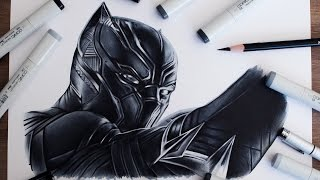 Black Panther Drawing - Captain America Civil War