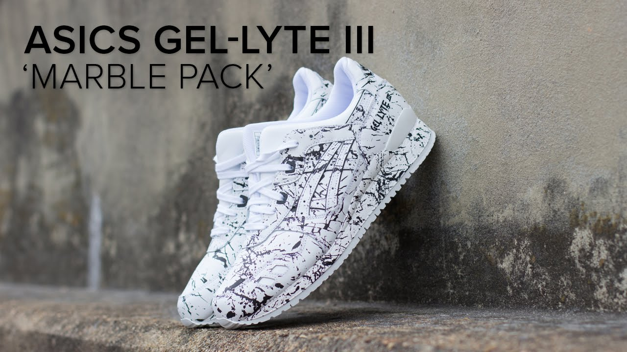 asics gel lyte iii marble pack