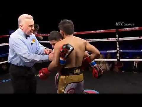 JADE BORNEA  VS.  DELGADILLO FIGHT HIGHLIGHTS