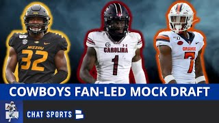 2021 NFL Mock Draft: Dallas Cowboys 7-Round Fan-Led Edition