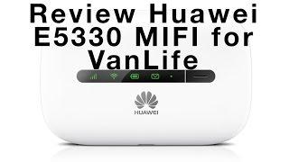 Review Huawei E5330 MIFI for VanLife