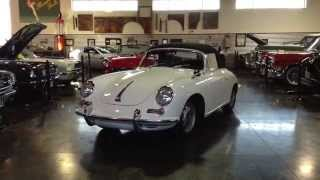 SOLD SOLD 1964 Porsche 356 C at the Sun Valley Auto Club