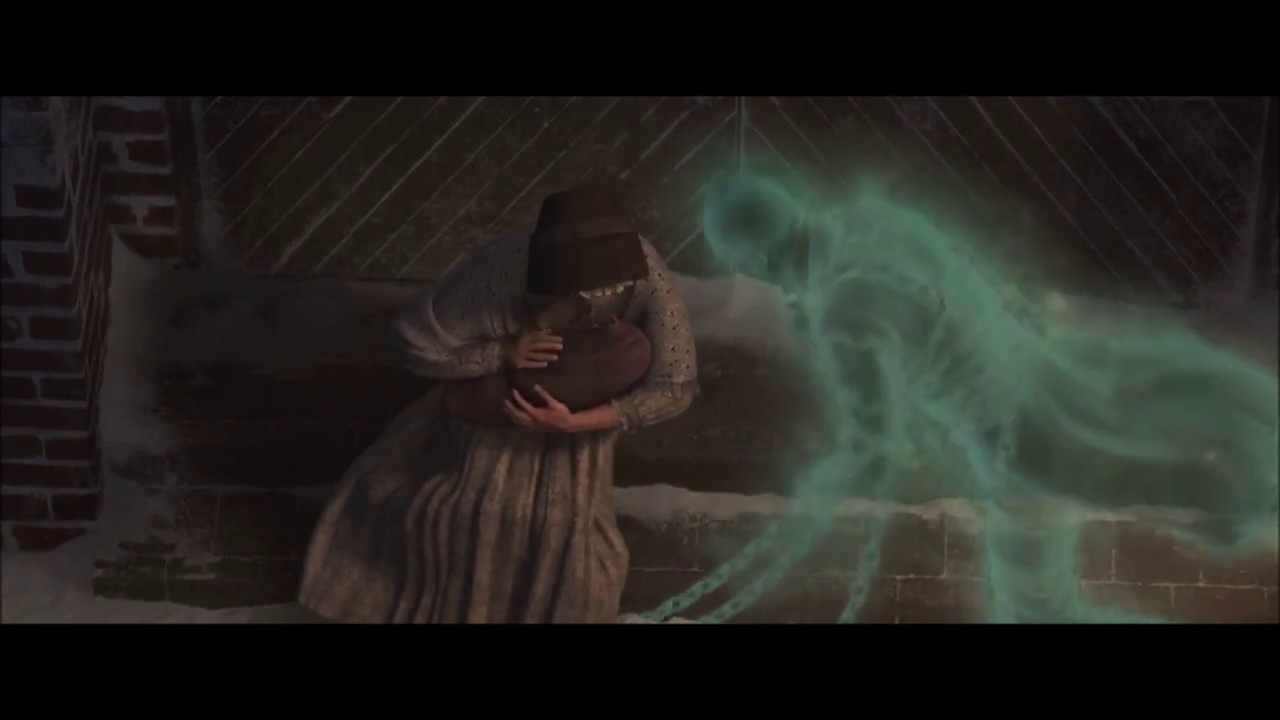 A Christmas Carol 2009 Marley S Ghost Hd 1080p Part 4 Youtube