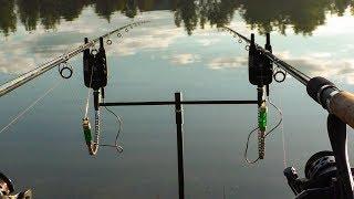 Рыбалка с ночевкой. Ловим карпа на фидер. Флэт Метод и Асимметричная петля. Последняя рыбалка.