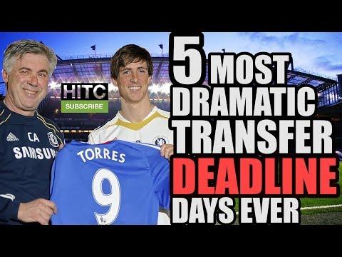 5 Most Dramatic TRANSFER DEADLINE Days Ever