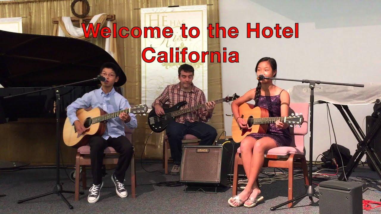 Hotel California Cover With Lyrics