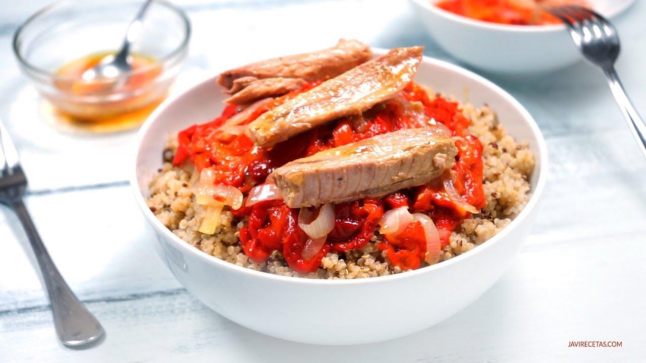 Ensalada de Quinoa y Pimientos Asados