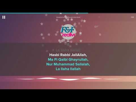 karaoke-hasbi-rabbi-lagu-qasidah-++-lirik-no-vocal