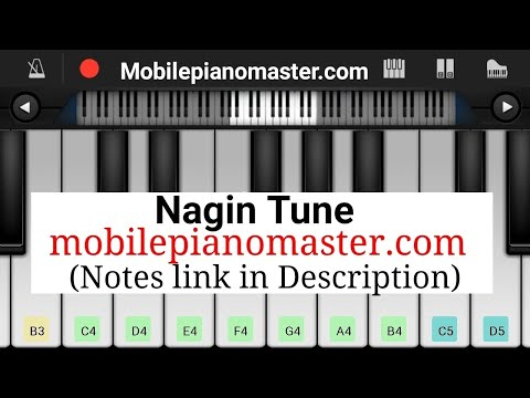 Nagin Tune Piano tutorial|Piano Keyboard|Piano Lessons|Piano Music|learn piano Online|Piano Keyboard