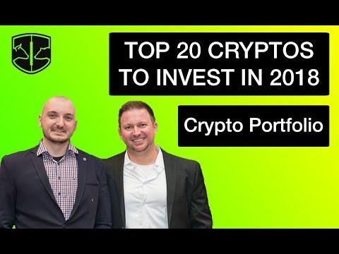 Top 20 Cryptos To Invest In 2018 - Focused Vs Diversified Portfolio
