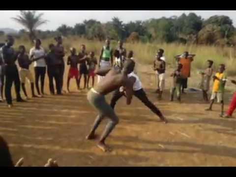 Démonstration de capoeira à Bangui, en Centrafrique