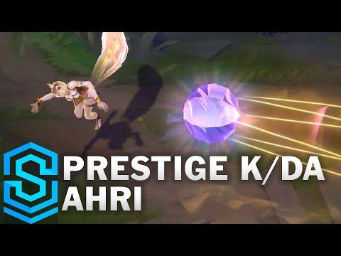 Prestige K/DA Ahri (2020) Skin Spotlight - League of Legends