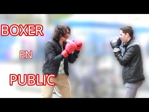 BOXER AVEC DES INCONNUS EN PUBLIC (Mohammad Ali) | BOXING STRANGERS PRANK