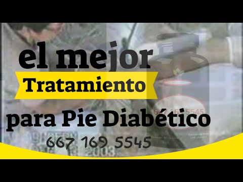 Tratamiento para Pie Diabetico y Gangrena - YouTube