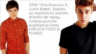 One Direction ft. Justin Bieber - Beauty And A Beat with Live While We