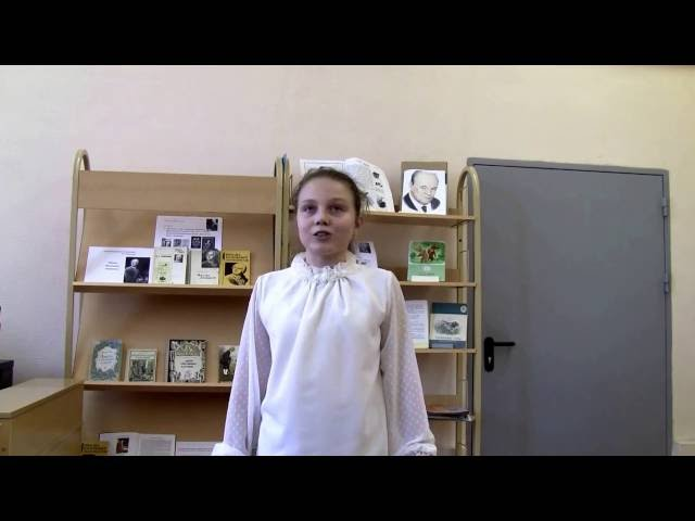 Изображение предпросмотра прочтения – БанниковаДарья читает произведение «Мартышка и очки» И.А.Крылова