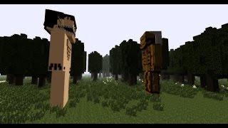 Minecraft Attack on Titan Eren Transformation Effects Test