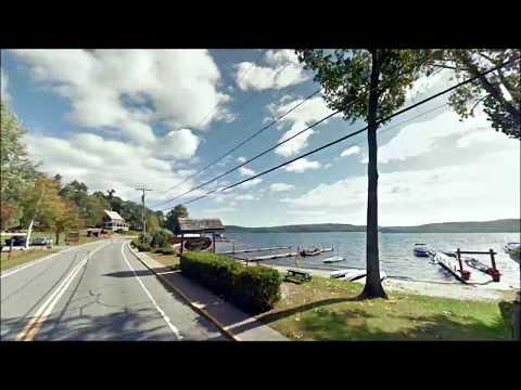 New York to Montreal -- Streetview Roadtrip Timelapse