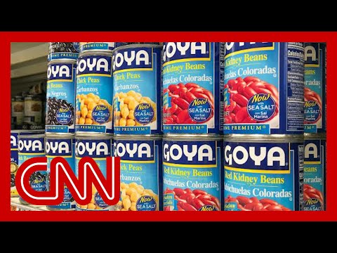 Goya Foods Boycott Takes Off After Its Ceo Praises Trump Youtube