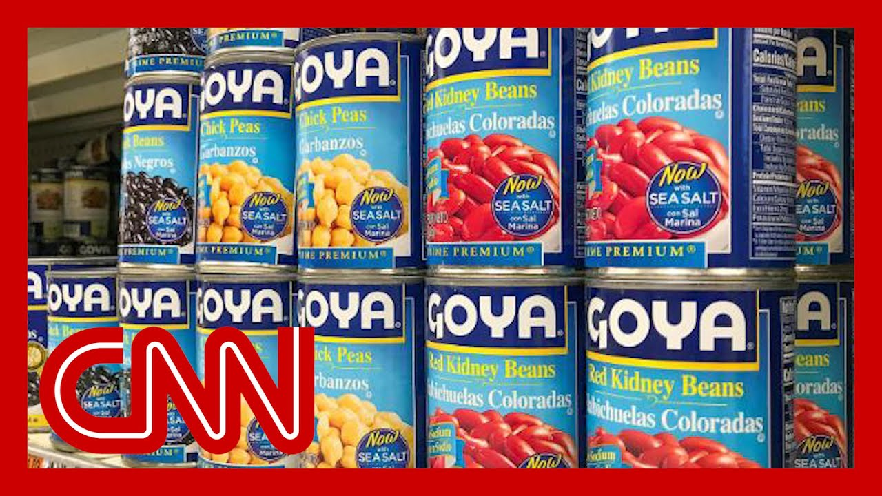 Goya Foods Boycott Takes Off After Its President Praises Trump