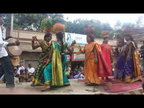 Bonalu Jathara Dance @ Harli Bowli