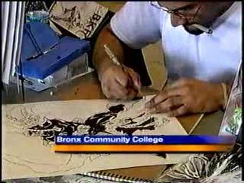 Comic Book Publisher Samuel Vera on Local TV