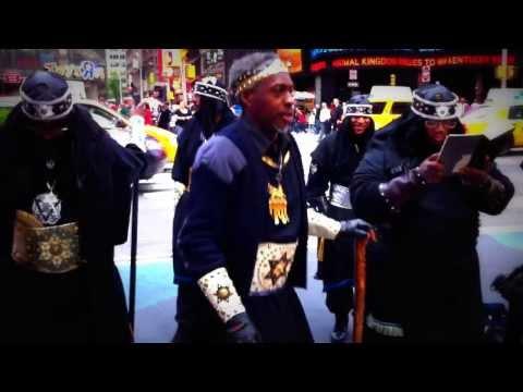 Crazy Black Hebrew Israelite In Time Square (Very Funny)