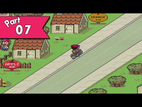 EarthBound walkthrough (w/ commentary) Part 7 - Apples & Oranges & Pizza!