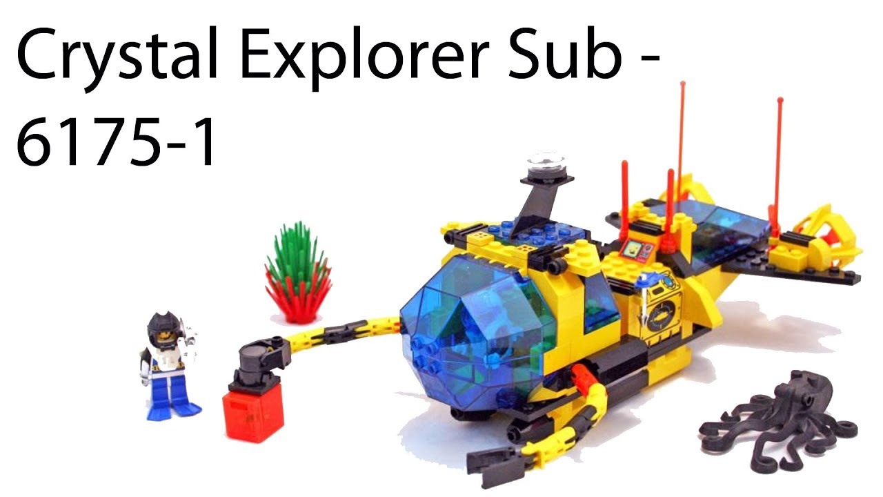 Lego Aquashark Alternate Builds