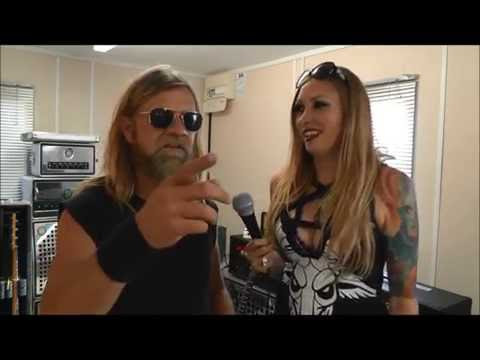 Pepper Keenan from Corrosion of Conformity and Down talks to Hayley at Bloodstock 2016