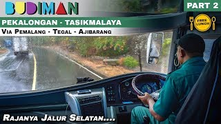 3 Pekalongan Tasik Mencoba Trayek Baru Bus Budiman Line Perdana