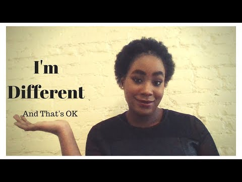 I'm Different & That's OK