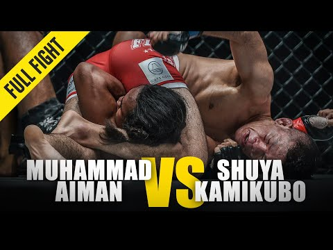 Muhammad Aiman vs. Shuya Kamikubo | ONE Full Fight | October 2018