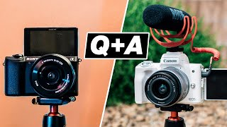 Best Camera for YouTube Q&A with Sean Cannell