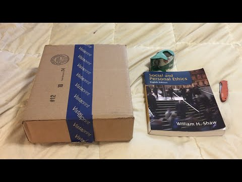 How To - Make A Box For Your Textbook Return