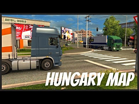 Euro Truck Simulator 2 - Hungary Map by: Frank007 #1