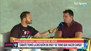 Cavallero reconoció contactos por Tevez: