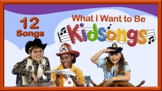 What I Want to Be | Kidsongs | ABC Song | Them Bones | Nursery Rhyme  Songs | PBS Kids | Kid Songs thumbnail
