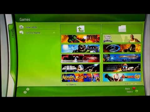 Original Xbox - XBMC Blades Dashboard
