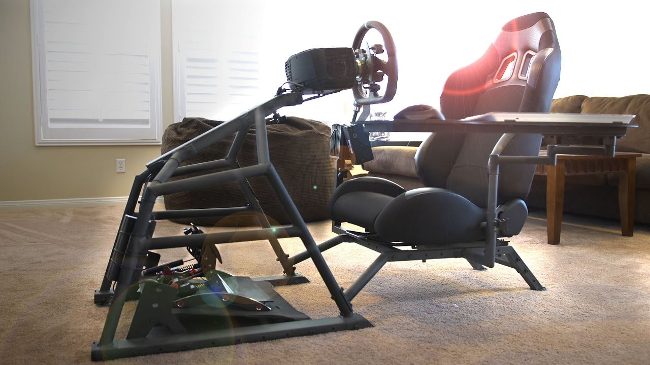 rocker es game chair log style adirondack chairs image result for with shifter mount sim racing