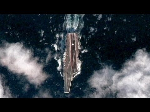 China's first aircraft carrier takes to the seas